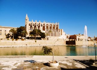 Majorca, one of Spain's Mediterranean Balearic Islands, is well known for beach resorts and sheltered coves, and its Roman and Moorish buildings.