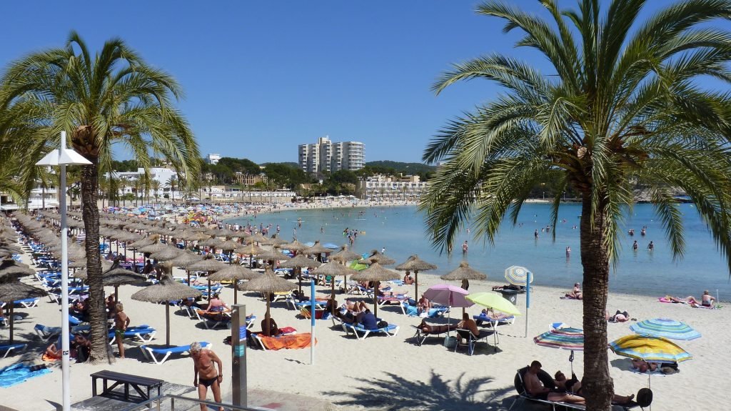 Peguera was one of Majorca's first holiday destinations and has always been popular with German visitors.